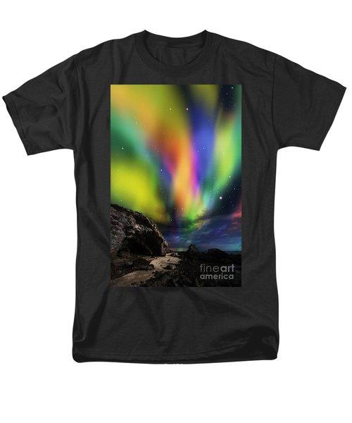Dramatic Aurora Men's T-Shirt  (Regular Fit) by Atiketta Sangasaeng