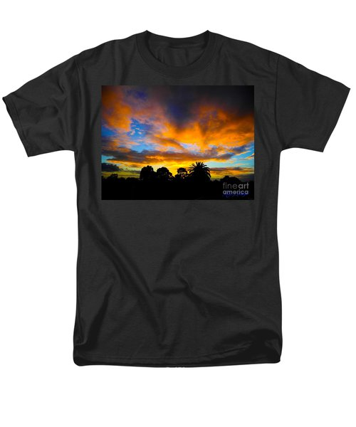 Men's T-Shirt  (Regular Fit) featuring the photograph Dramatic Sunset by Mark Blauhoefer