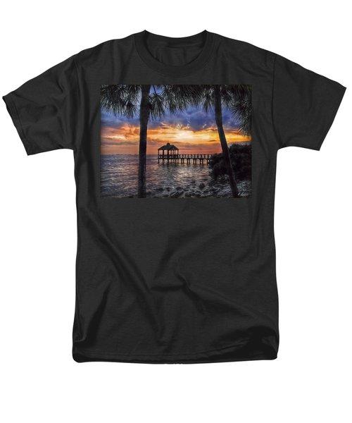 Men's T-Shirt  (Regular Fit) featuring the photograph Dream Pier by Hanny Heim