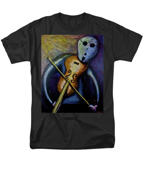 Men's T-Shirt  (Regular Fit) featuring the painting Dreamers 99-002 by Mario Perron