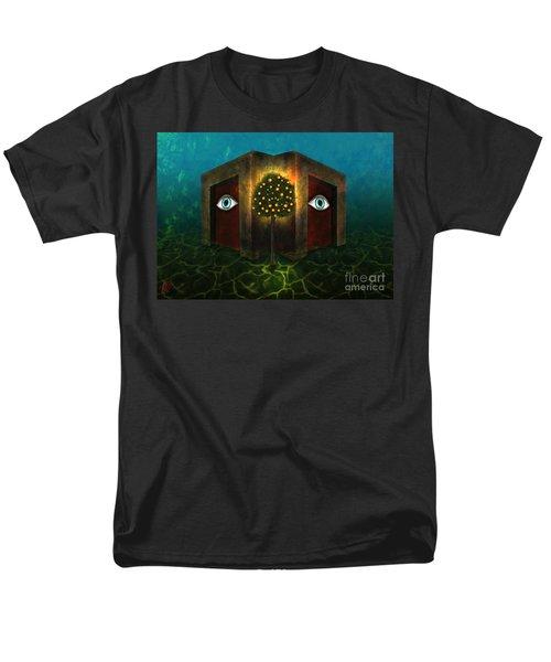 Dreams Do Not Sleep Men's T-Shirt  (Regular Fit) by Rosa Cobos