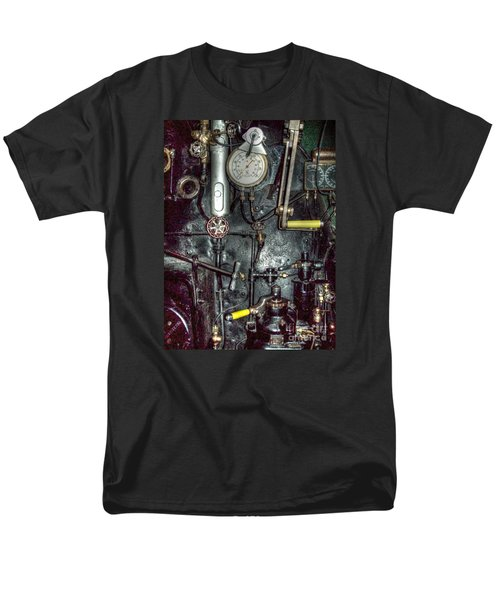 Men's T-Shirt  (Regular Fit) featuring the photograph Driving Steam by MJ Olsen