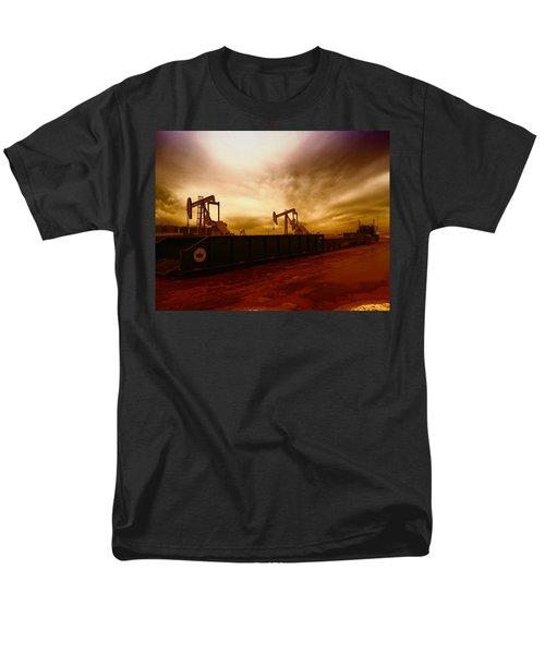 Dropping A Tank Men's T-Shirt  (Regular Fit) by Jeff Swan