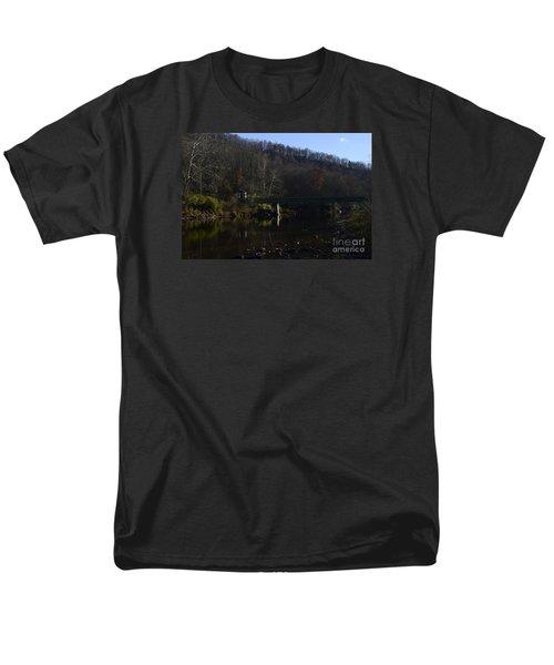Dry Fork At Jenningston Men's T-Shirt  (Regular Fit) by Randy Bodkins