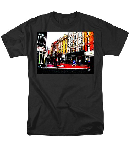 Men's T-Shirt  (Regular Fit) featuring the photograph Dublin City Vibe by Charlie and Norma Brock