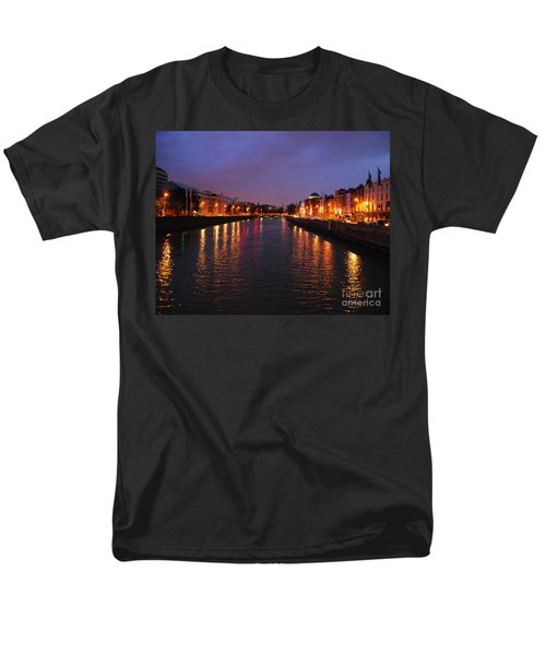 Dublin Nights Men's T-Shirt  (Regular Fit) by Mary Carol Story