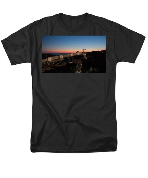 Men's T-Shirt  (Regular Fit) featuring the photograph Dubrovnik by Silvia Bruno