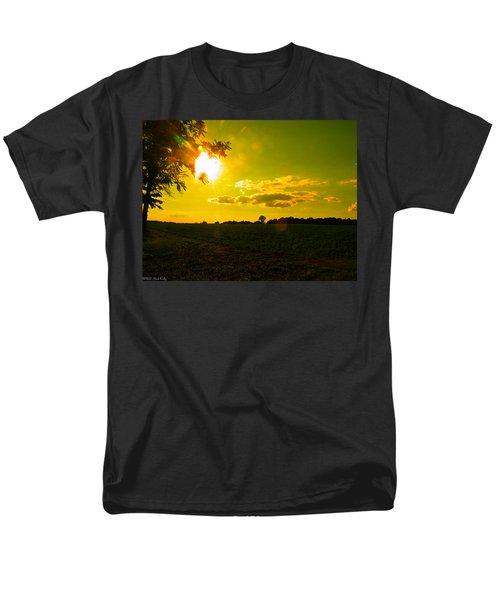 Duck Flying Low Cloud 2 Men's T-Shirt  (Regular Fit) by Nick Kirby