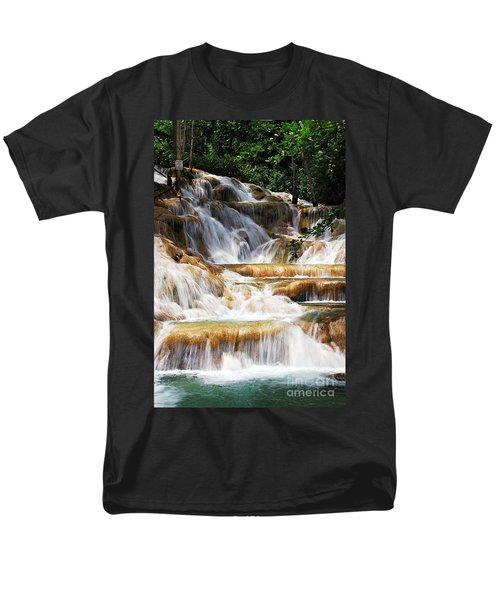 Dunn Falls _ Men's T-Shirt  (Regular Fit) by Hannes Cmarits