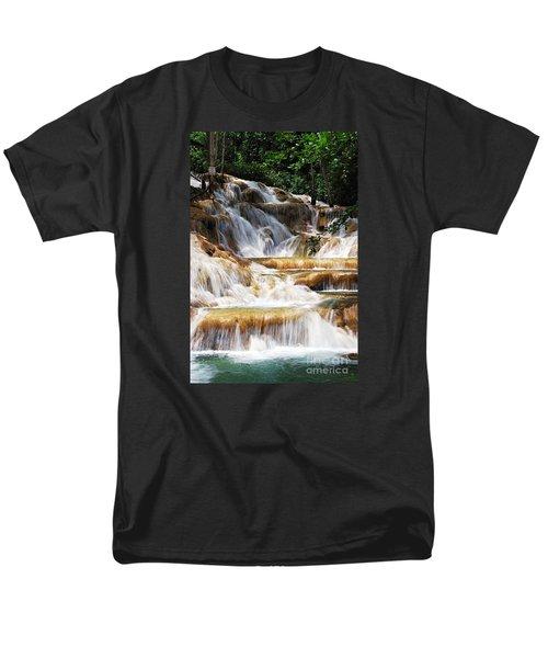Dunn Falls Men's T-Shirt  (Regular Fit) by Hannes Cmarits