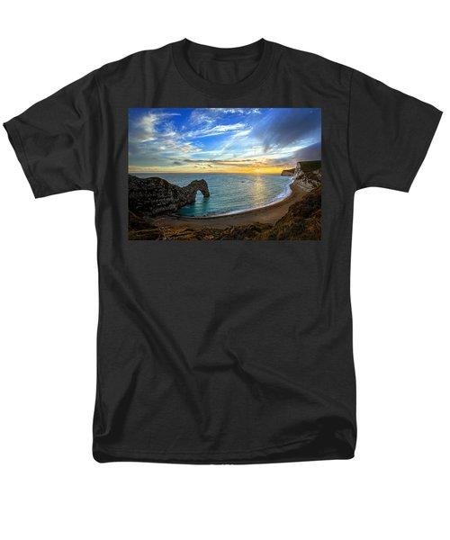 Durdle Door Sunset Men's T-Shirt  (Regular Fit) by Ian Good