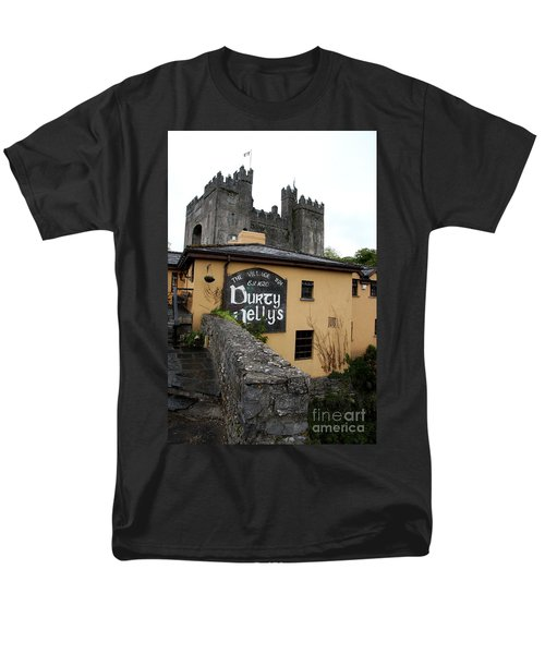 Durty Nellys And Bunraty Castle Men's T-Shirt  (Regular Fit) by Christiane Schulze Art And Photography