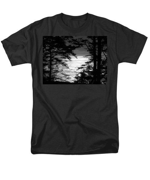 Dusk On The Ocean Men's T-Shirt  (Regular Fit) by Katie Wing Vigil
