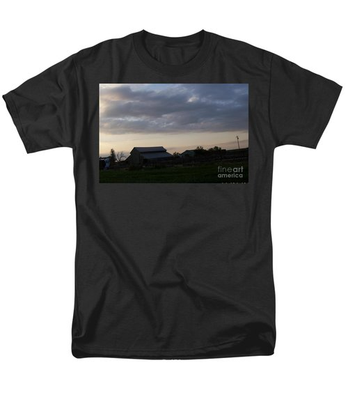 Men's T-Shirt  (Regular Fit) featuring the photograph Dusk Til Dawn by Bobbee Rickard