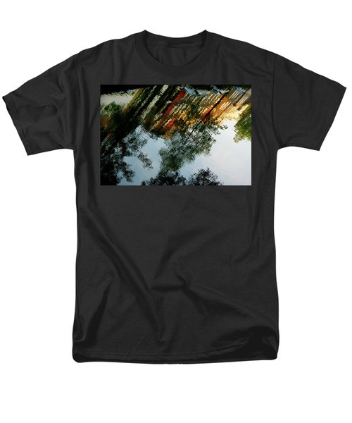 Dutch Canal Reflection Men's T-Shirt  (Regular Fit) by KG Thienemann