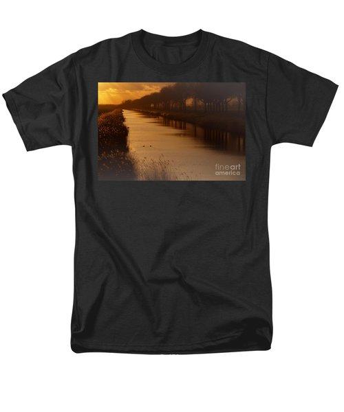 Dutch Landscape Men's T-Shirt  (Regular Fit) by Nick  Biemans