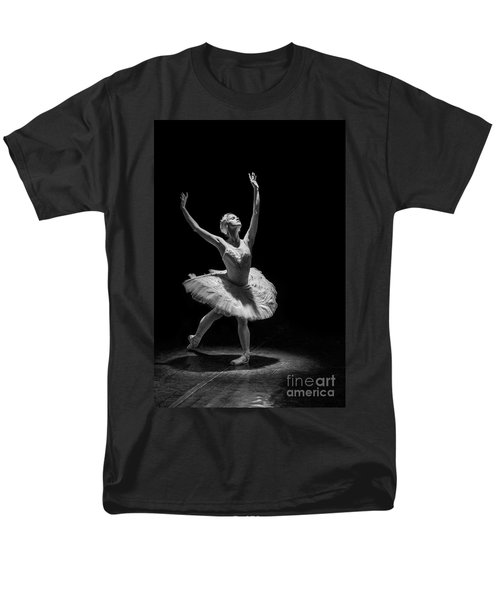 Dying Swan 6. Men's T-Shirt  (Regular Fit) by Clare Bambers