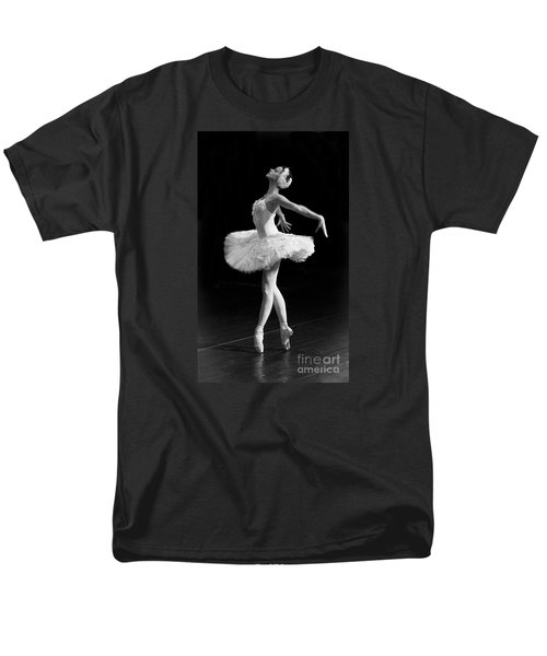 Dying Swan I. Men's T-Shirt  (Regular Fit) by Clare Bambers