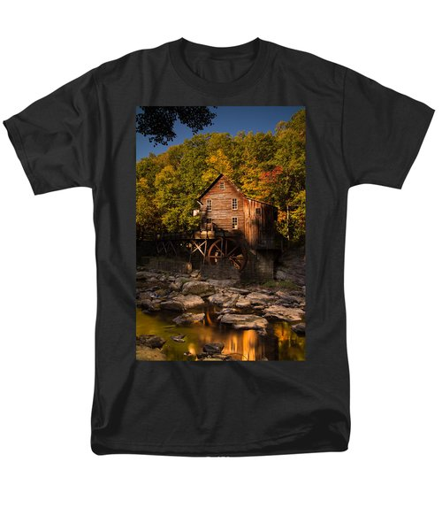 Early Autumn At Glade Creek Grist Mill Men's T-Shirt  (Regular Fit)