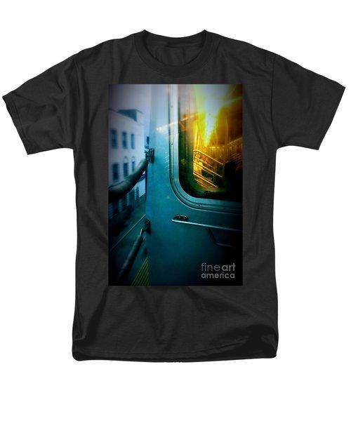 Men's T-Shirt  (Regular Fit) featuring the photograph Early Morning Commute by James Aiken