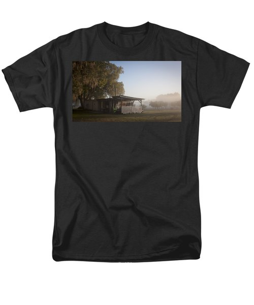 Early Morning On The Farm Men's T-Shirt  (Regular Fit) by Lynn Palmer