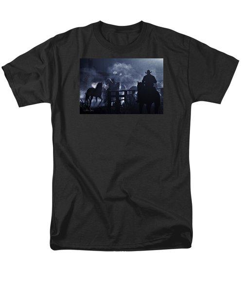 Early Morning Smoke Men's T-Shirt  (Regular Fit) by Joan Davis