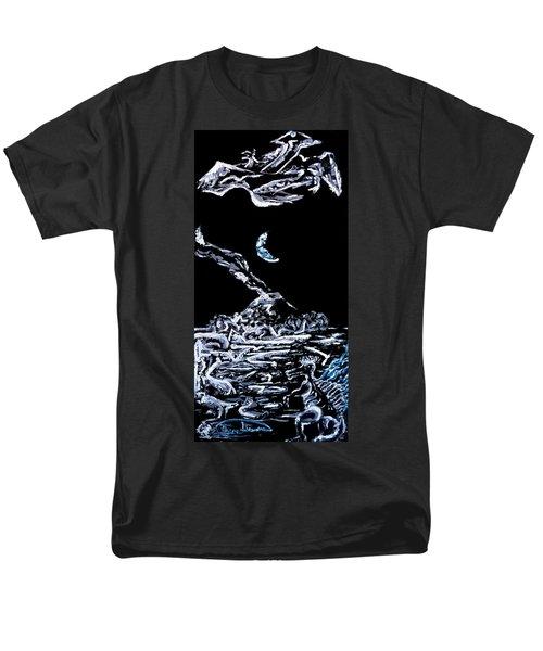 Earth Men's T-Shirt  (Regular Fit) by Ryan Demaree
