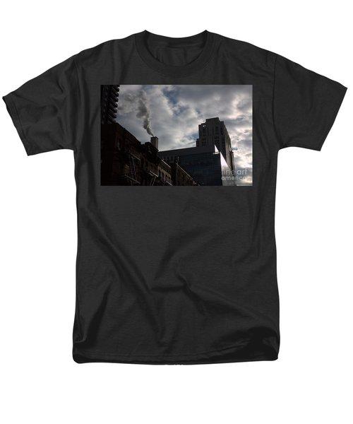 Men's T-Shirt  (Regular Fit) featuring the photograph East Side Smoke by Steven Macanka