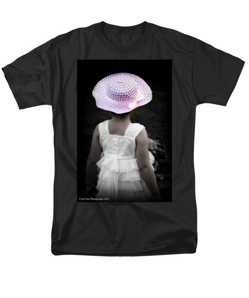 Men's T-Shirt  (Regular Fit) featuring the photograph Easter Angel by Jeanette C Landstrom