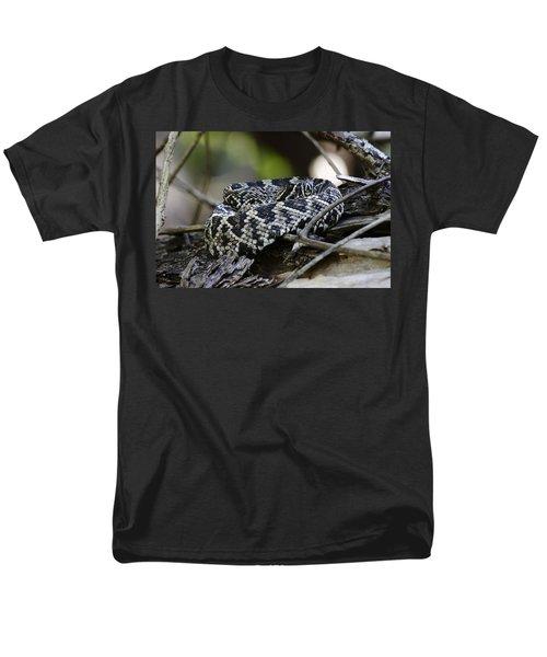 Eastern Diamondback-1 Men's T-Shirt  (Regular Fit) by Rudy Umans