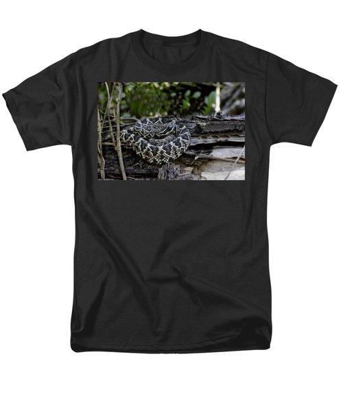 Eastern Diamondback-2 Men's T-Shirt  (Regular Fit) by Rudy Umans