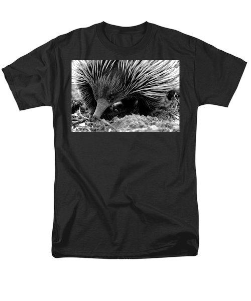 Men's T-Shirt  (Regular Fit) featuring the photograph Echidna by Miroslava Jurcik