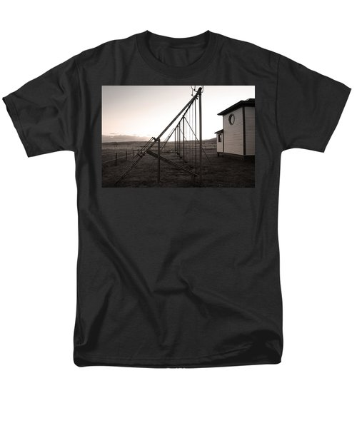 Men's T-Shirt  (Regular Fit) featuring the photograph Echoes Of Laughter by Jim Garrison