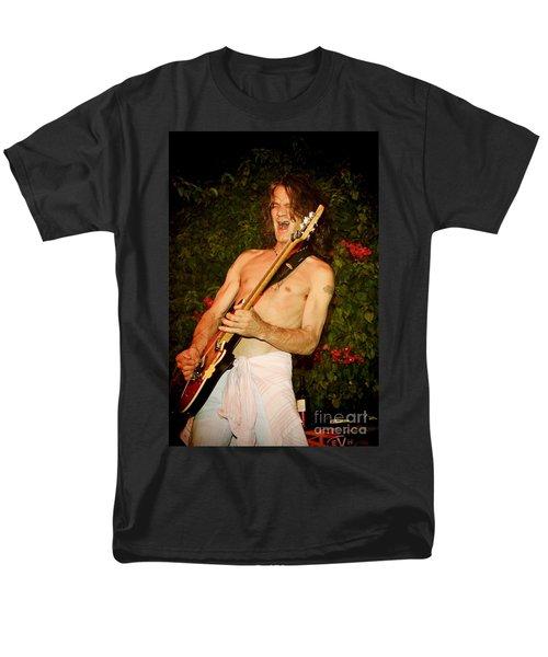 Eddie Van Halen Men's T-Shirt  (Regular Fit) by Nina Prommer