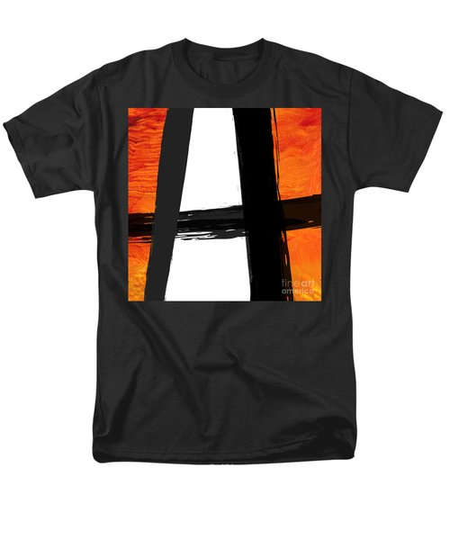 Men's T-Shirt  (Regular Fit) featuring the painting Edge II by Paul Davenport
