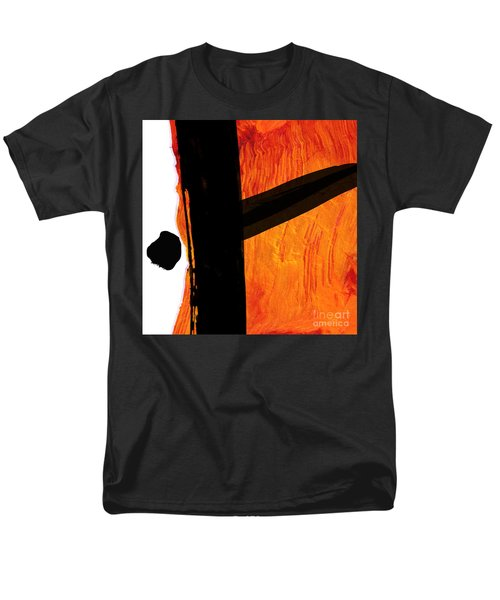 Men's T-Shirt  (Regular Fit) featuring the painting Edge by Paul Davenport