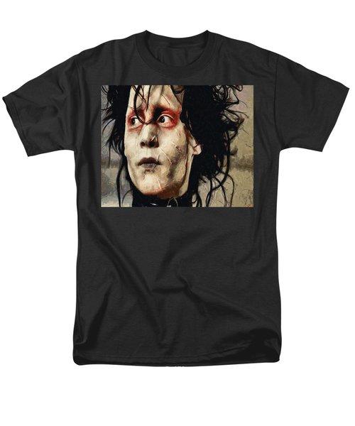 Edward Scissorhands  Men's T-Shirt  (Regular Fit) by Joe Misrasi
