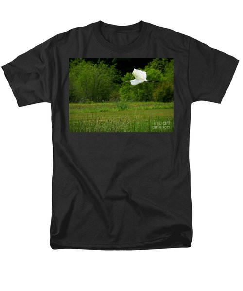 Egret's Flight Men's T-Shirt  (Regular Fit)
