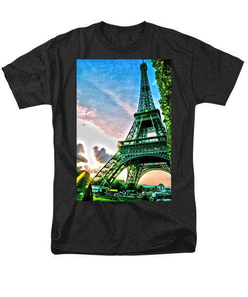 Eiffel Tower 8 Men's T-Shirt  (Regular Fit) by Micah May