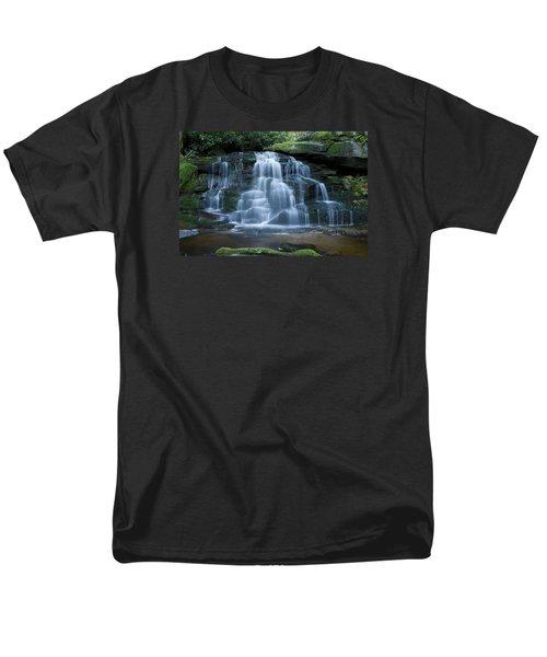 Elakala Falls Number 2 Men's T-Shirt  (Regular Fit) by Shelly Gunderson