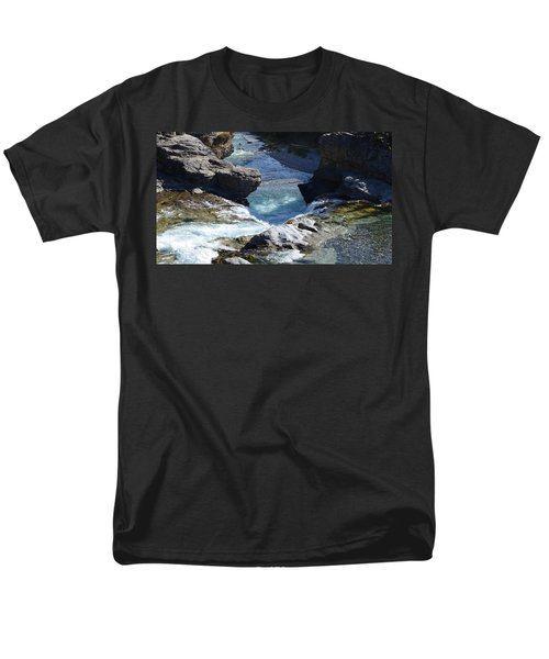 Elbow Falls Men's T-Shirt  (Regular Fit) by Cheryl Miller