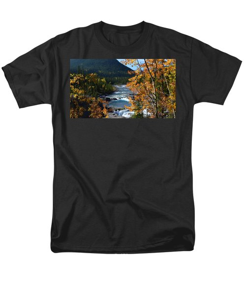 Elbow River View Men's T-Shirt  (Regular Fit) by Cheryl Miller