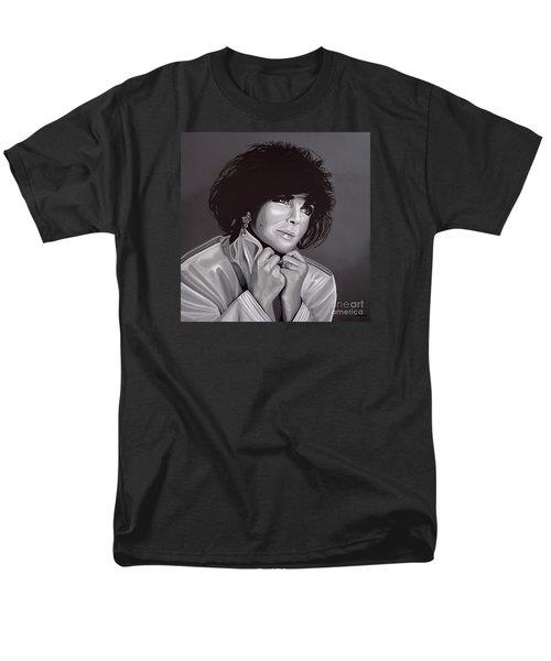 Elizabeth Taylor Men's T-Shirt  (Regular Fit) by Paul Meijering