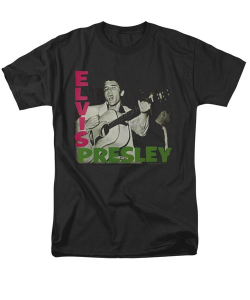 Elvis - Elvis Presley Album Men's T-Shirt  (Regular Fit) by Brand A
