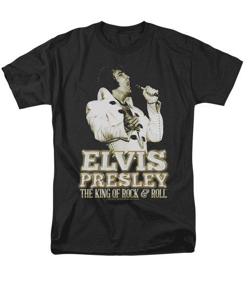 Elvis - Golden Men's T-Shirt  (Regular Fit)