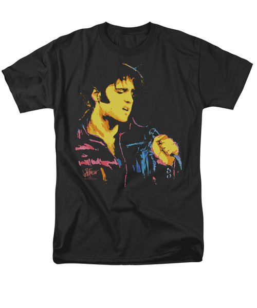 Elvis - Neon Elvis Men's T-Shirt  (Regular Fit) by Brand A