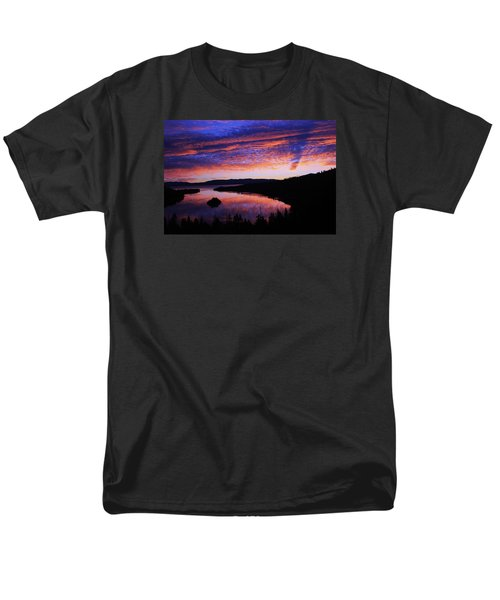 Men's T-Shirt  (Regular Fit) featuring the photograph Emerald Bay Awakens by Sean Sarsfield