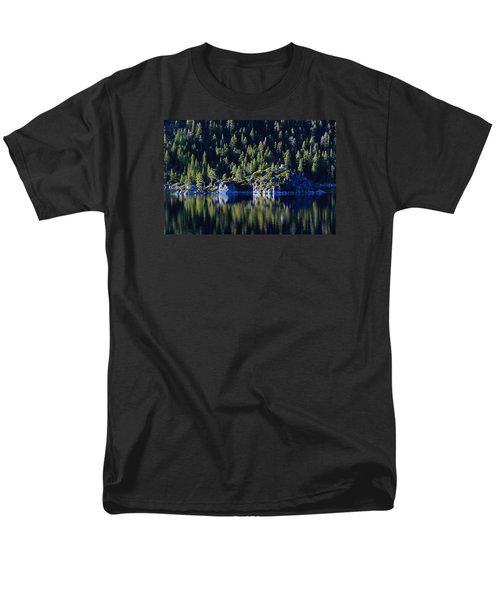 Men's T-Shirt  (Regular Fit) featuring the photograph Emerald Bay Teahouse by Sean Sarsfield