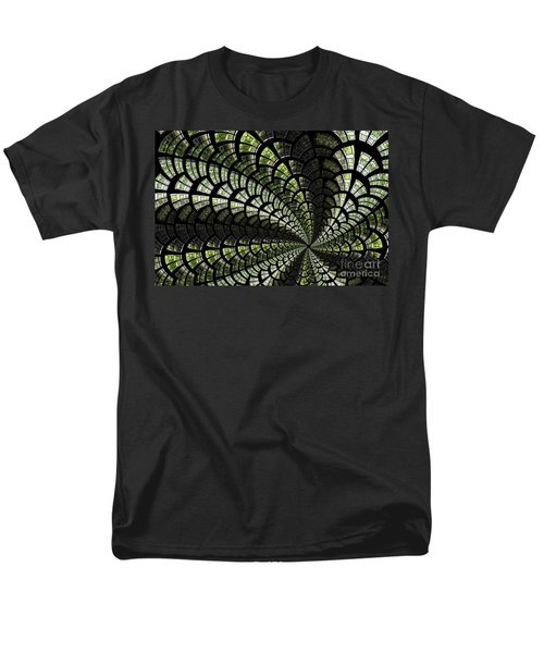 Men's T-Shirt  (Regular Fit) featuring the photograph Emerald Whirl. by Clare Bambers