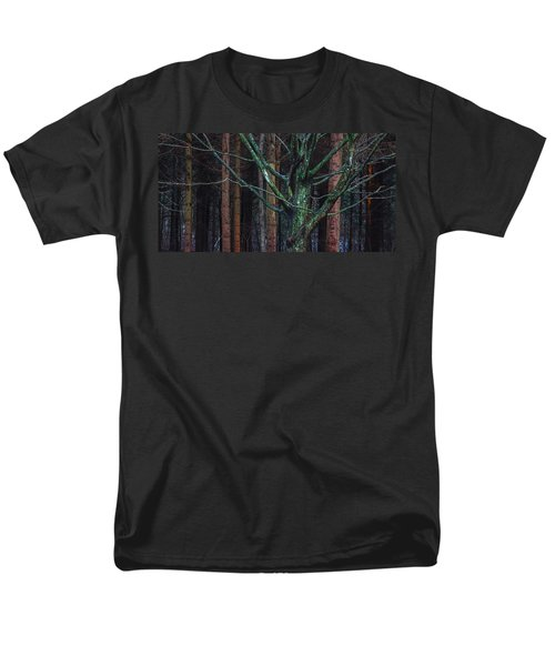 Men's T-Shirt  (Regular Fit) featuring the photograph Enchanted Forest by Davorin Mance